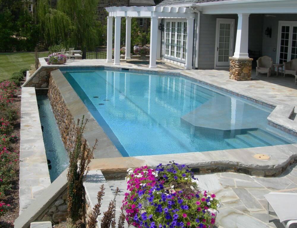 infinity pools gallery blueterra pool construction