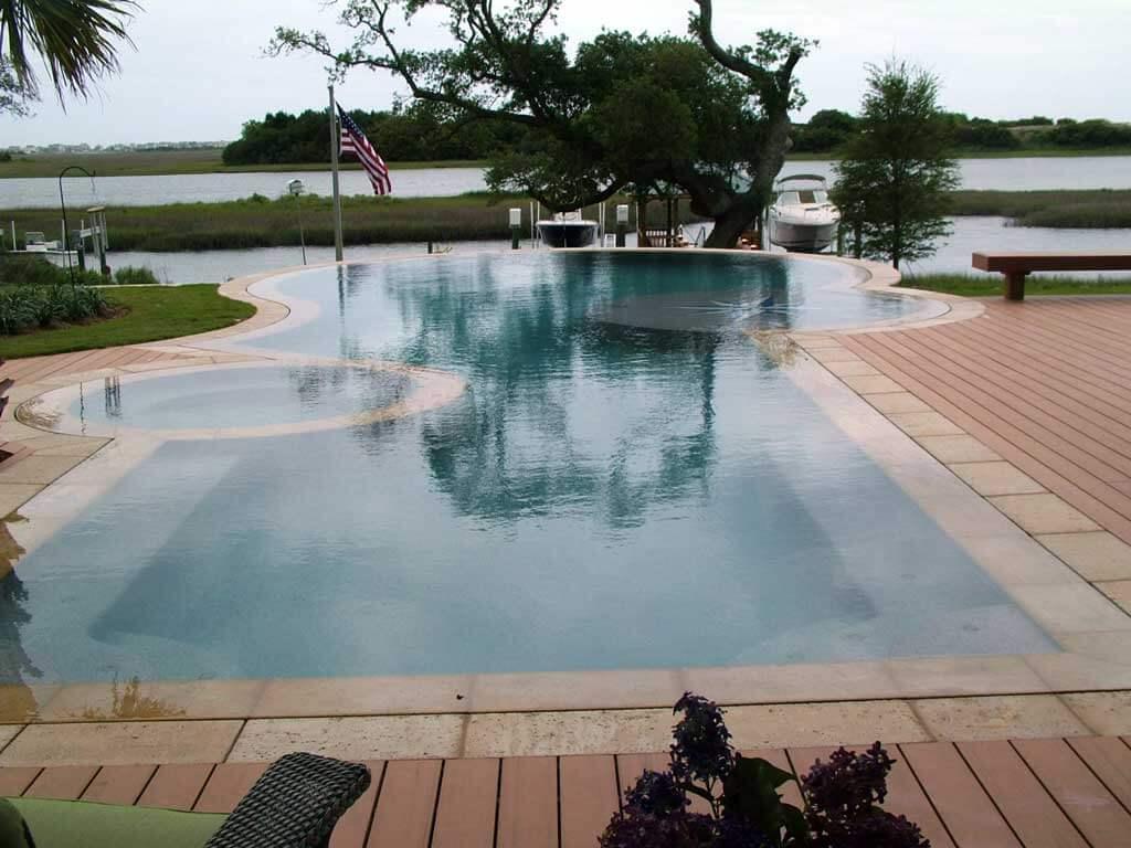Blueterra pool construction custom inground pool builder for Pool design regrets